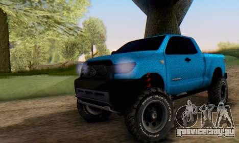 Toyota Tundra OFF Road Tuning Blue Star для GTA San Andreas
