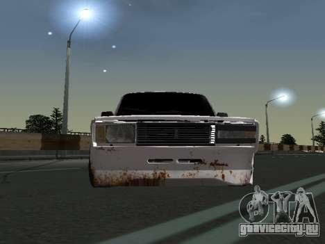 ВАЗ 2107 Бродяга для GTA San Andreas вид слева