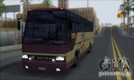 Setra S215 HD для GTA San Andreas вид слева