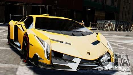 Lamborghini Veneno 2013 для GTA 4