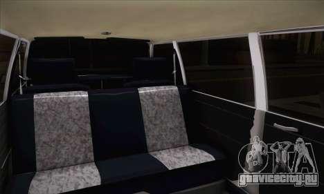 Peykan 1600i Limo для GTA San Andreas вид сзади слева