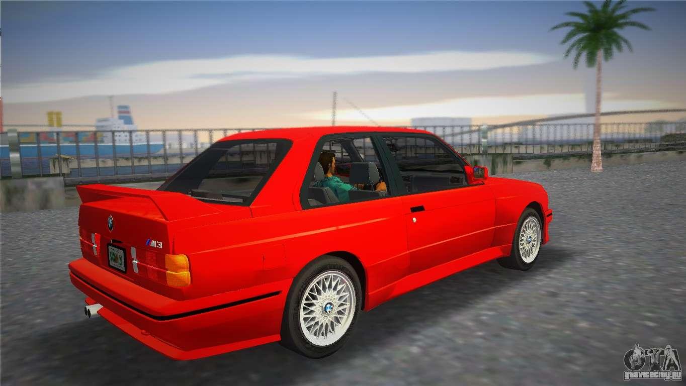 Bmw M3 E30 1987 для Gta Vice City