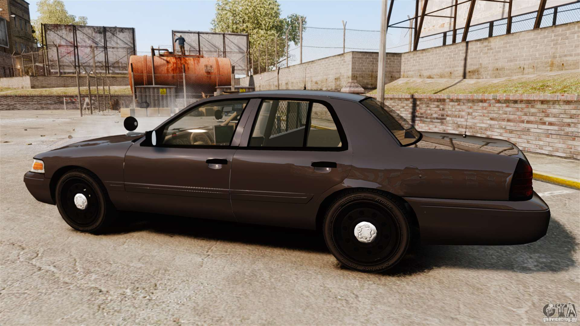 Ford Crown Victoria Sheriff Els Unmarked Gta 4 1949