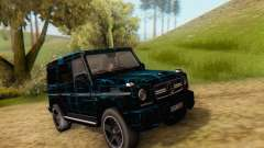 Mercedes-Benz G65 Black Square Pattern для GTA San Andreas