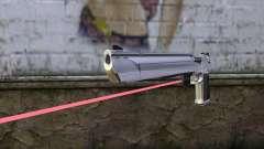 Desert Eagle с лазерным прицелом