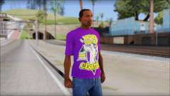 John Cena Purple T-Shirt для GTA San Andreas