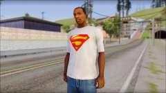 Superman T-Shirt для GTA San Andreas