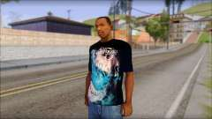 Avenged Sevenfold Nightmare Fan T-Shirt для GTA San Andreas