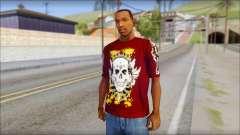 Skull T-Shirt для GTA San Andreas