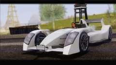 Caparo T1 2012 для GTA San Andreas