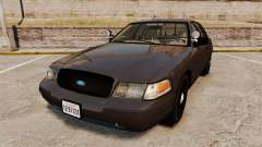 Ford Crown Victoria Sheriff [ELS] Unmarked для GTA 4