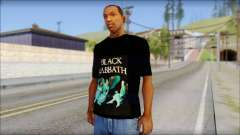 Black Sabbath T-Shirt v1 для GTA San Andreas