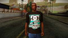 DC Shoes USA T-Shirt для GTA San Andreas