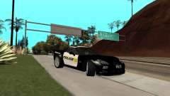 Chevrolet Corvette Z06 Los Santos Sheriff Dept для GTA San Andreas
