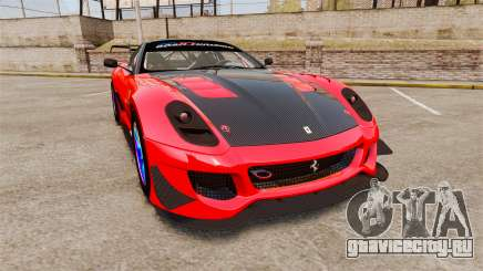 Ferrari F599 XX Evoluzione Simple CarbonFiber для GTA 4