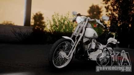 Harley-Davidson FXSTS Springer Softail для GTA San Andreas