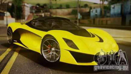 Grotti Turismo R V.1 для GTA San Andreas