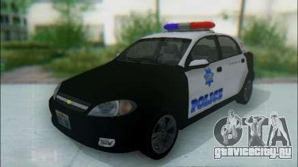 Chevrolet Lacetti Police для GTA San Andreas