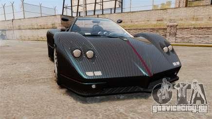 Pagani Zonda C12S Roadster 2001 v1.1 PJ3 для GTA 4