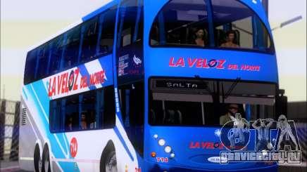 Metalsur Starbus DP 1 6x2 - La Veloz del Norte для GTA San Andreas