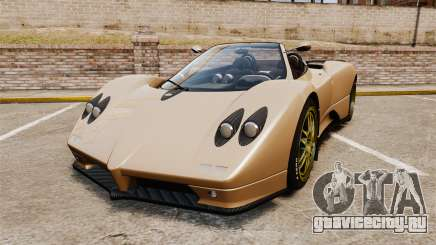 Pagani Zonda C12S Roadster 2001 v1.1 для GTA 4