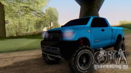 Toyota Tundra OFF Road Tuning Blue Star для GTA San Andreas