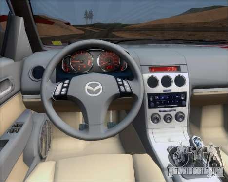 Mazda 323F 1995 для GTA San Andreas вид сбоку
