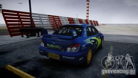 Subaru Impreza STI Group N Rally Edition для GTA 4 вид слева