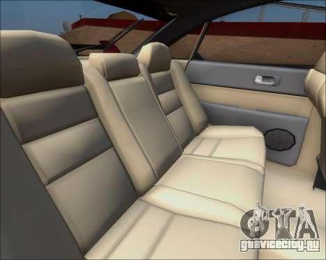 Mazda 323F 1995 для GTA San Andreas вид изнутри