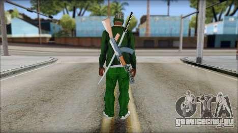 New CJ v5 для GTA San Andreas второй скриншот