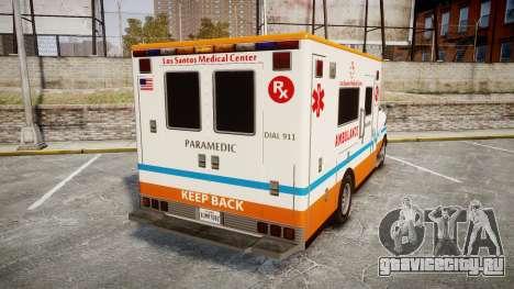 GTA V Brute Ambulance [ELS] для GTA 4 вид сзади слева