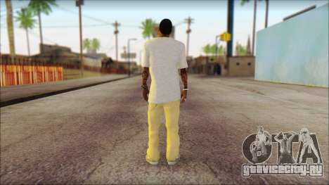 New Grove Street Family Skin v4 для GTA San Andreas второй скриншот