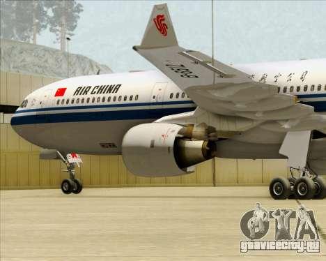 Airbus A330-300 Air China для GTA San Andreas двигатель