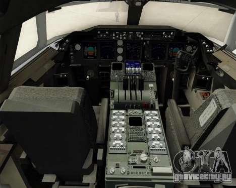 Boeing 747-8 Cargo Nippon Cargo Airlines для GTA San Andreas салон