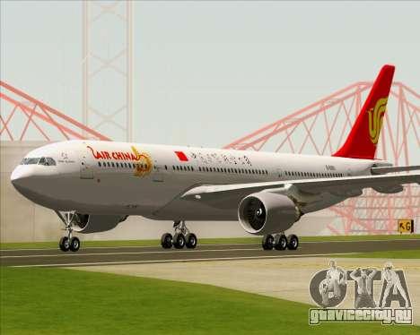 Airbus A330-200 Air China для GTA San Andreas вид слева