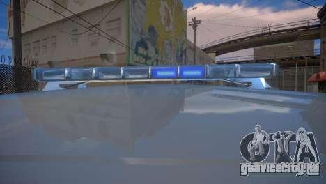 Mercedes-Benz GL450 AMG Police Interceptor 2013 для GTA 4 вид сзади