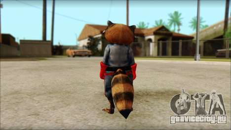Guardians of the Galaxy Rocket Raccoon v1 для GTA San Andreas второй скриншот