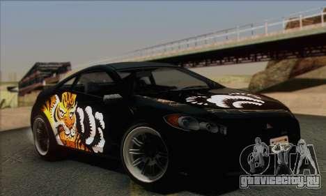 Maibatsu Penumbra 1.0 (IVF) для GTA San Andreas салон