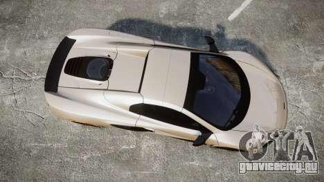 McLaren 650S Spider 2014 [EPM] Bridgestone v1 для GTA 4 вид справа