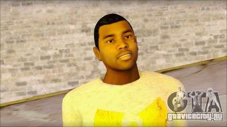 New Grove Street Family Skin v4 для GTA San Andreas третий скриншот