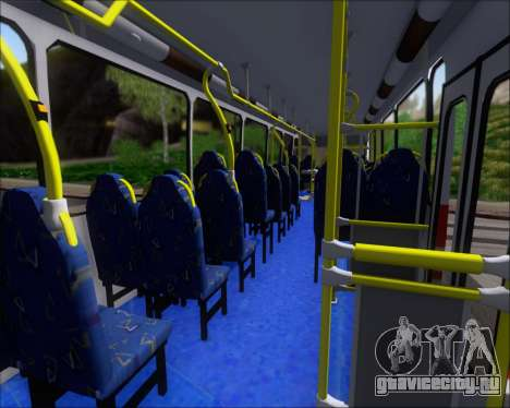 Neobus Spectrum Linea 38 Mcal. Lopez для GTA San Andreas вид снизу