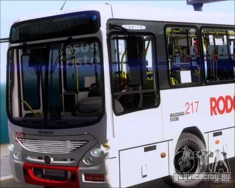 Marcopolo Torino G7 2007 - Volksbus 17-230 EOD для GTA San Andreas салон
