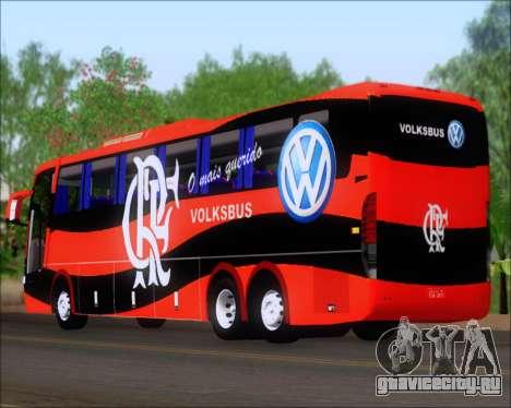 Busscar Elegance 360 C.R.F Flamengo для GTA San Andreas вид справа