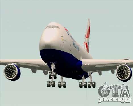 Boeing 747-8 Cargo British Airways World Cargo для GTA San Andreas вид справа