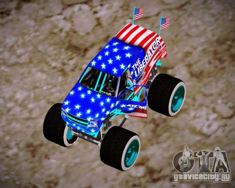 Liberator Online Version (American Flag) для GTA San Andreas