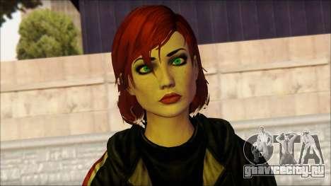Mass Effect Anna Skin v10 для GTA San Andreas третий скриншот