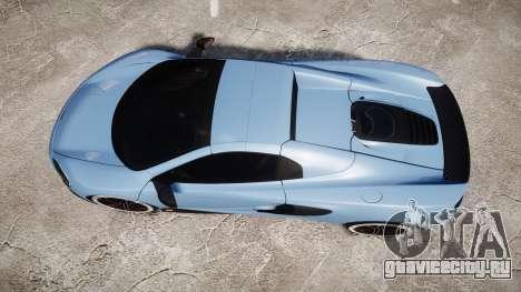 McLaren 650S Spider 2014 [EPM] Michelin v3 для GTA 4 вид справа