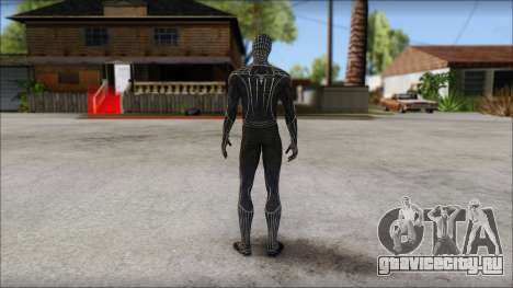 Standart Black Spider Man для GTA San Andreas второй скриншот