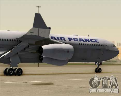 Airbus A340-313 Air France (Old Livery) для GTA San Andreas вид сзади