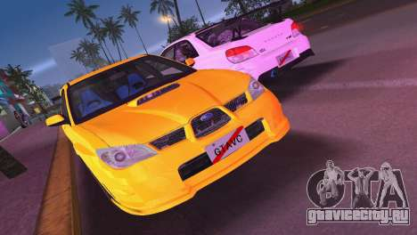 Subaru Impreza WRX STI 2006 Type 4 для GTA Vice City